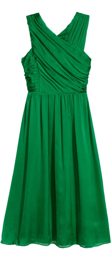 H&M Draped Dress  $69.99