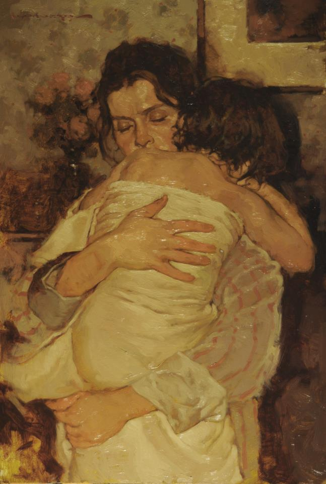 """""""In Mommies Arms"""" by Joseph Lorusso"""