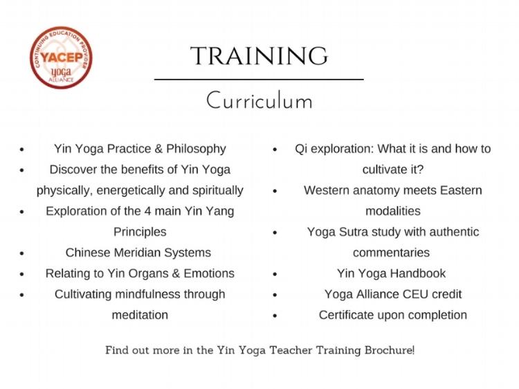 Annie Au Yoga- Yin Yoga Teacher Training