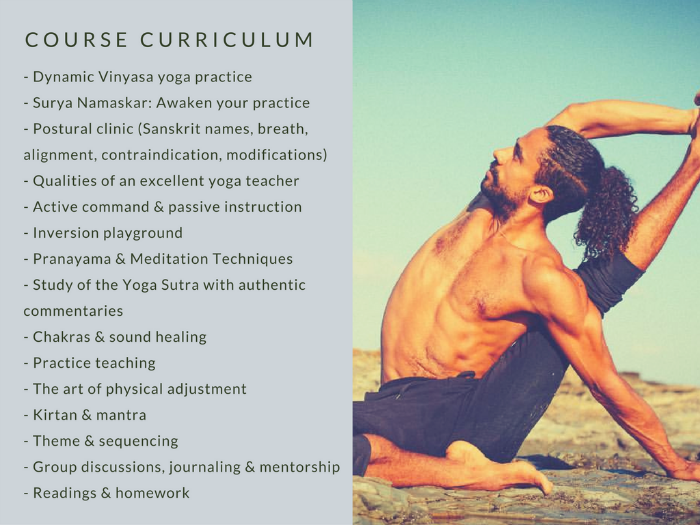 Mathieu Boldron Yang Yoga Teacher Training