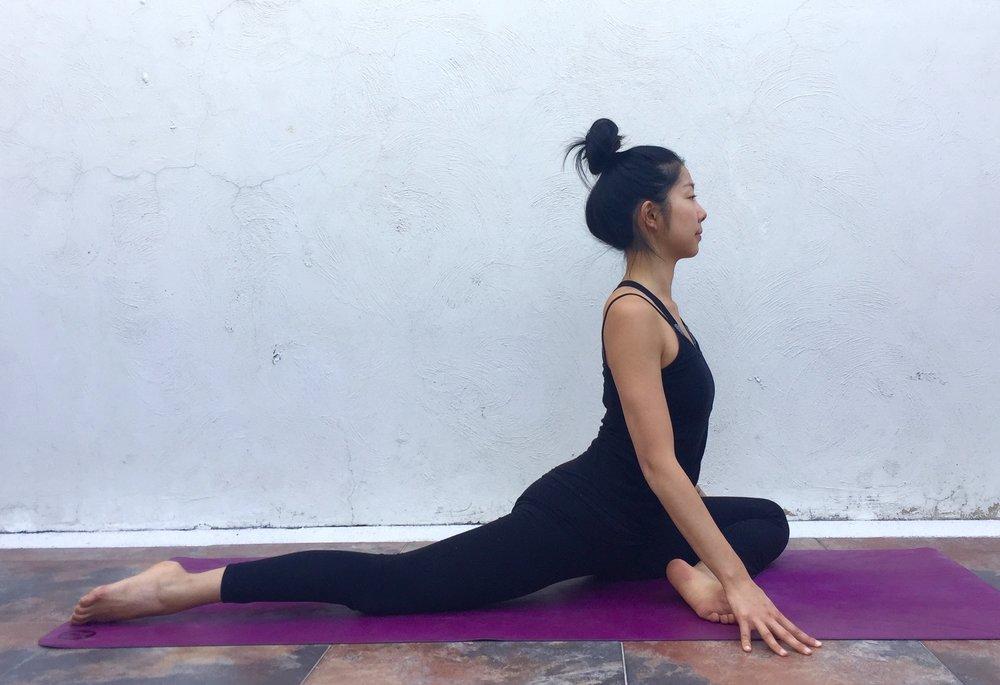 Swan-Annie Au Yin Yoga