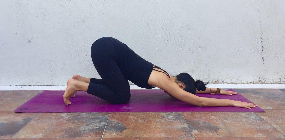 Anahatasana- Annie Au Yin Yoga