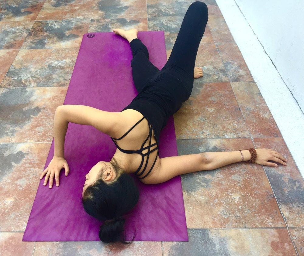 Broken Wing Annie Au Yin Yoga
