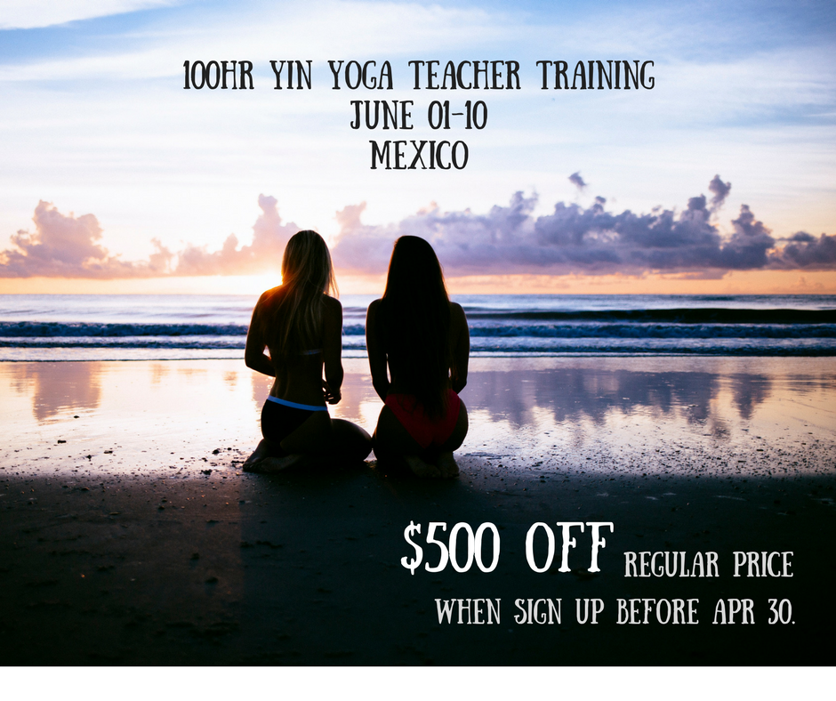 100hr Yin Yoga Teacher Training Mexico Annie Au