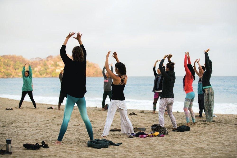 Annie Au Yin Yoga Teacher Training Mexico 2018
