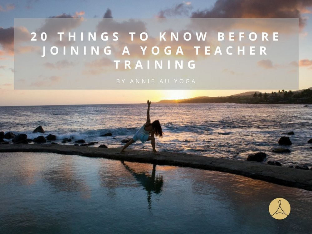 Annie Au Yoga Teacher Training Mexico