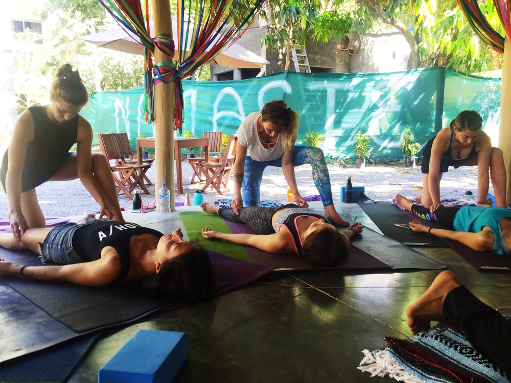 Annie Au Qigong Yin Yoga Teacher Training May 2018 Mexico