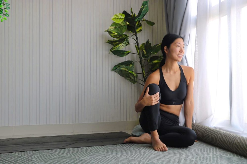 Annie Au Yin Yoga Poses to get rid of Worrying