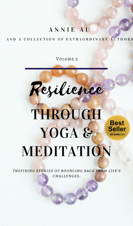 Annie Au Resilience Through Yoga and meditation book amazon best seller 2019