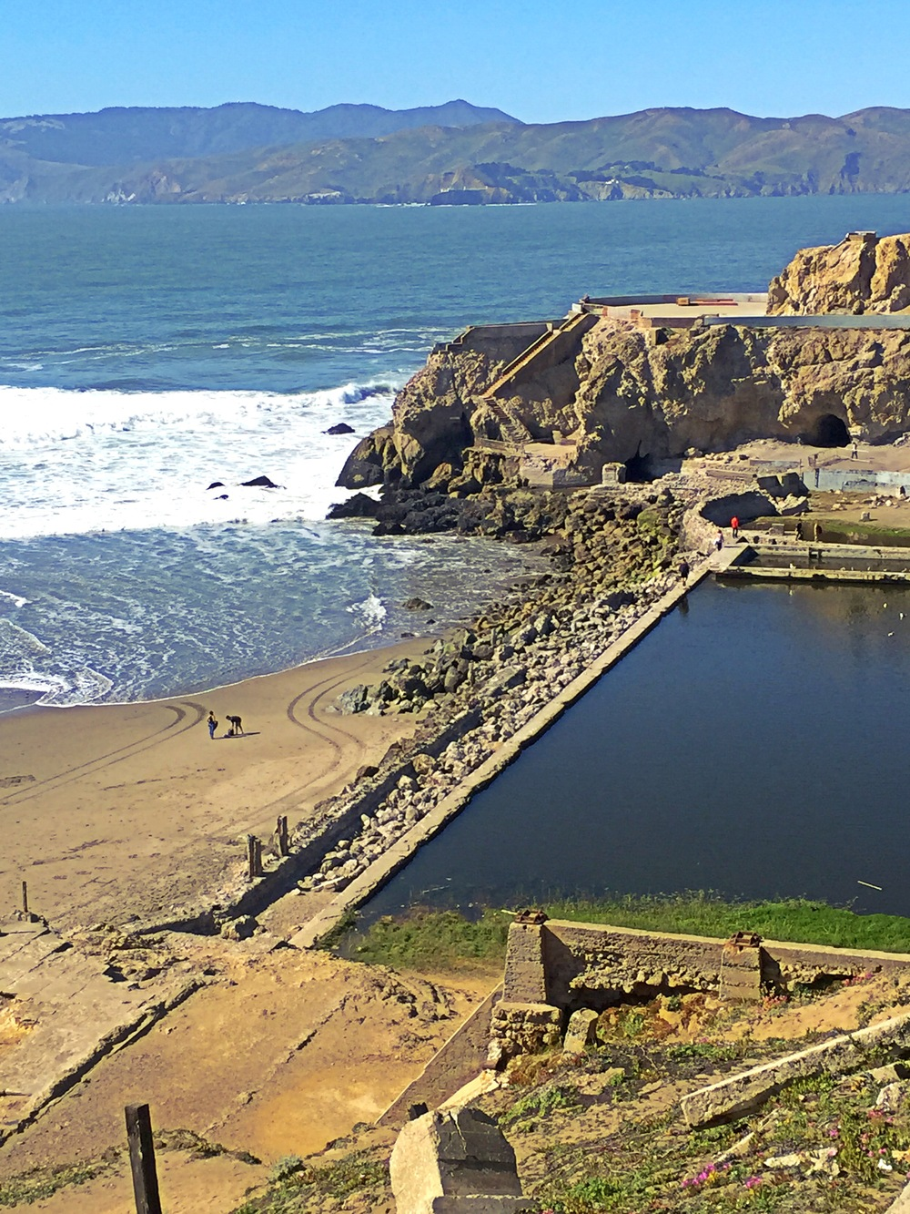 Sutro Baths, photo credit Carolyn Stine