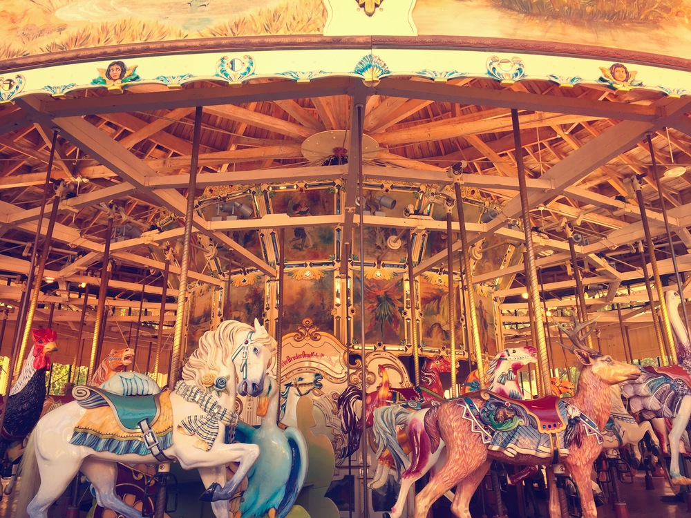 The Carousel at Golden Gate Park, photo credit Carolyn Stine