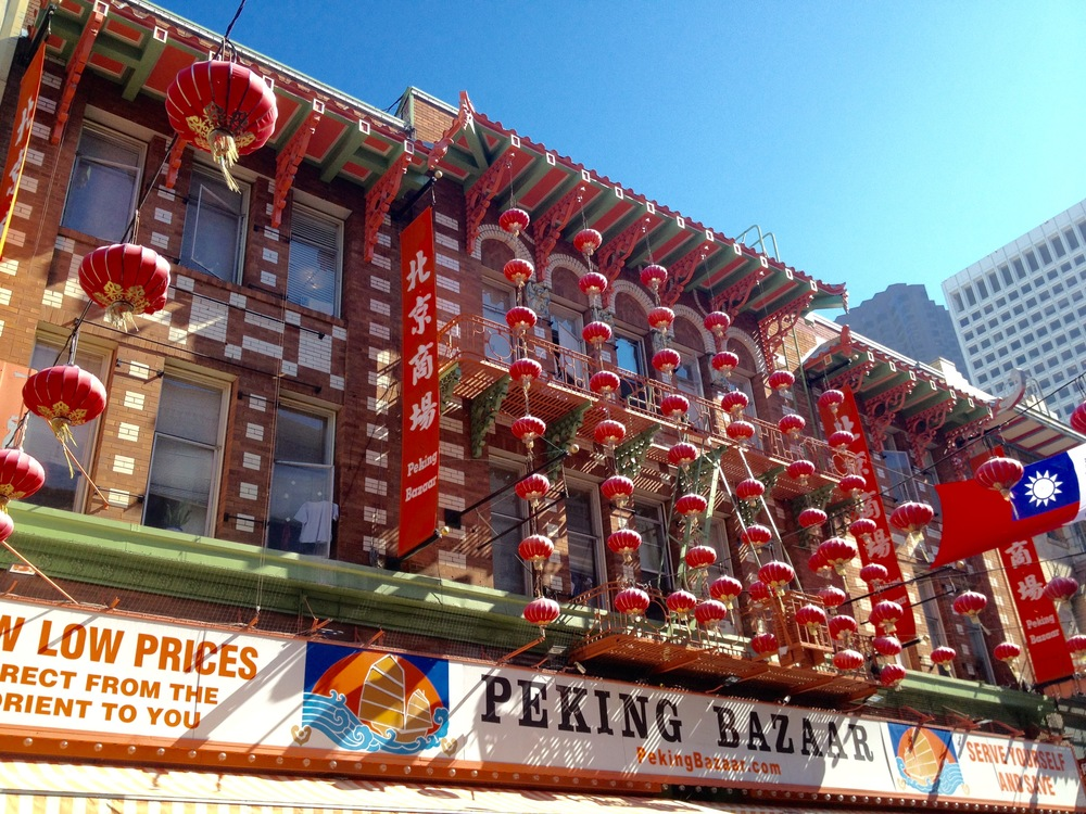 Chinatown SF, photo credit Carolyn Stine