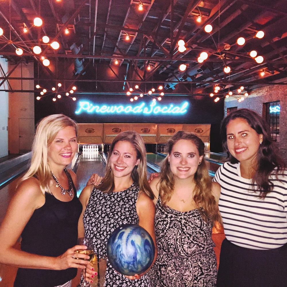 The Girls at Pinewood Social
