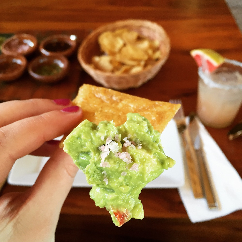 Guacamole at La Zebra, photo credit Carolyn Stine