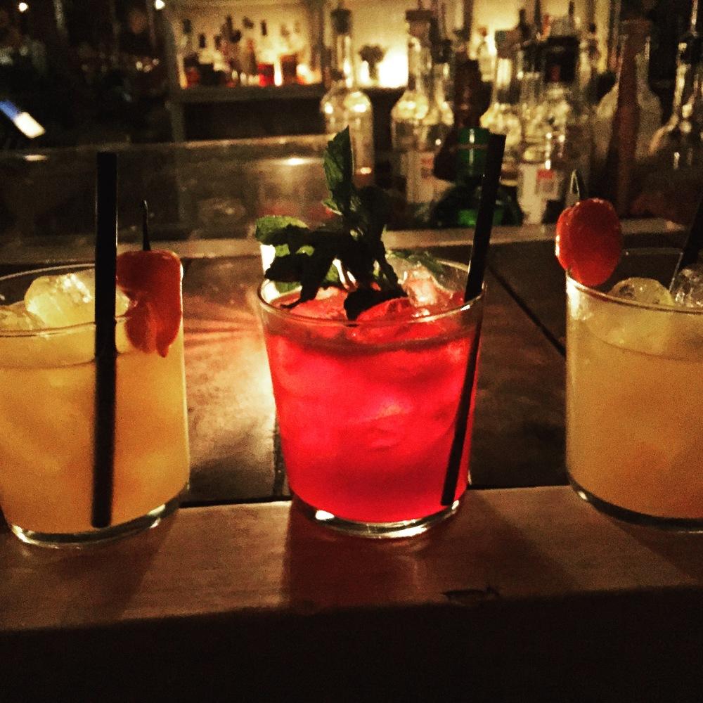Cocktails at Casa Jaguar, photo credit Carolyn Stine