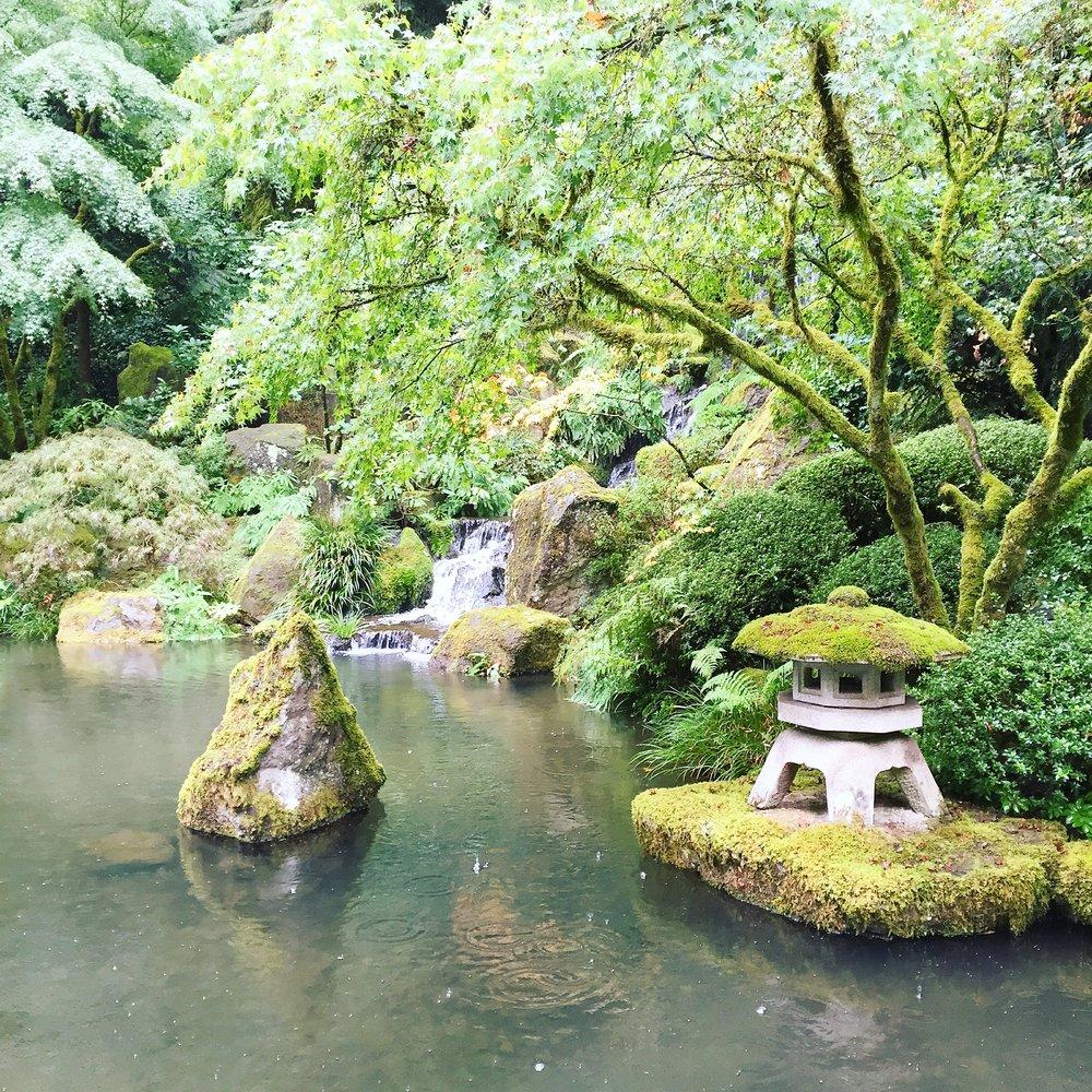 Japanese Garden Portland (Photo Credit Carolyn Stine)