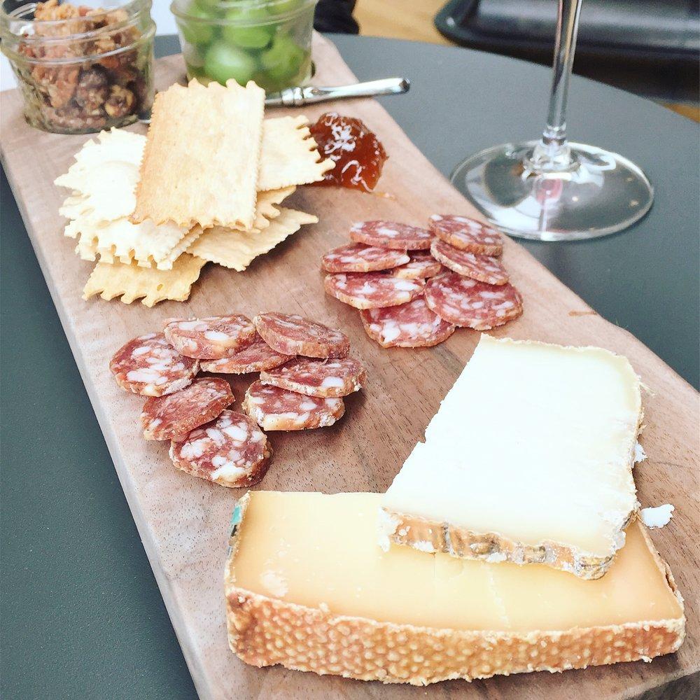 Cheese Platter (Photo Credit Carolyn Stine)
