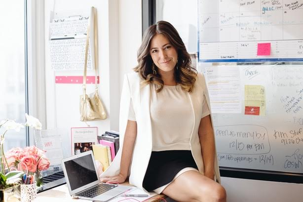 Erika Wasser, Founder of Glam&Go. Photo courtesy Glam&Go