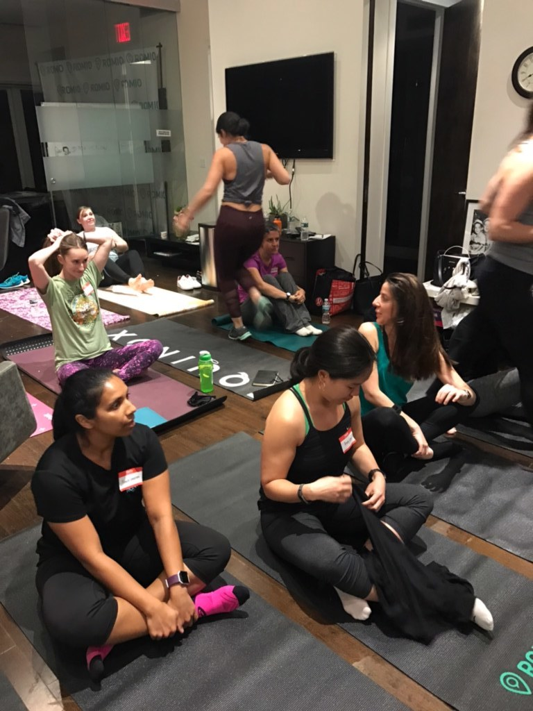 Pre-workout and journaling!