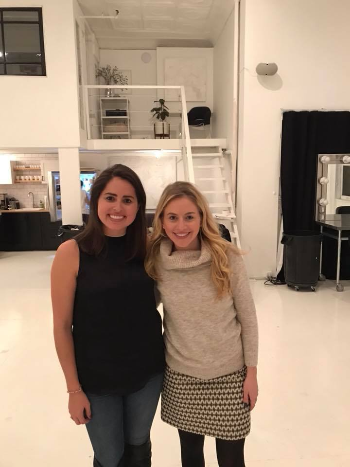 SDS founder Emily Merrell and Corcoran real estate agent Danielle Nazinitsky.