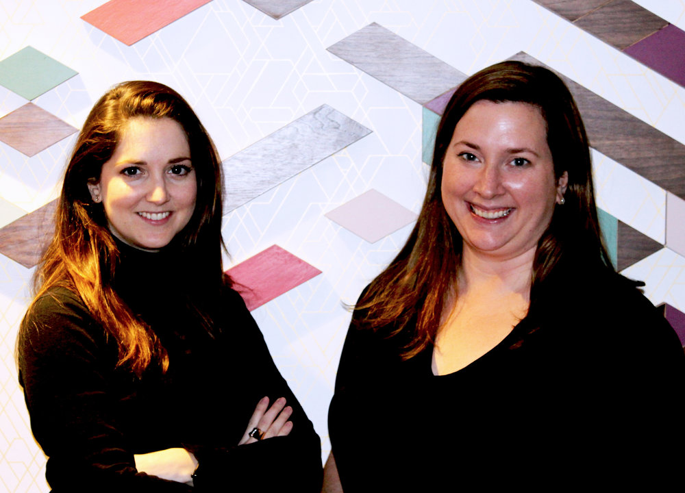 Corin Camenisch and Sheila Cannon of Blow Branding