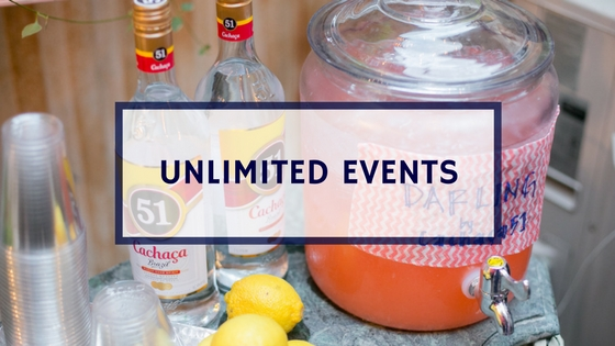 Unlimited Events Throughout All Cities.
