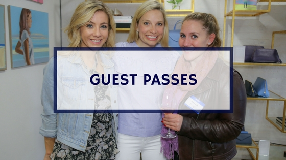 2 Monthly Guest Passes (For First Time Attendees).