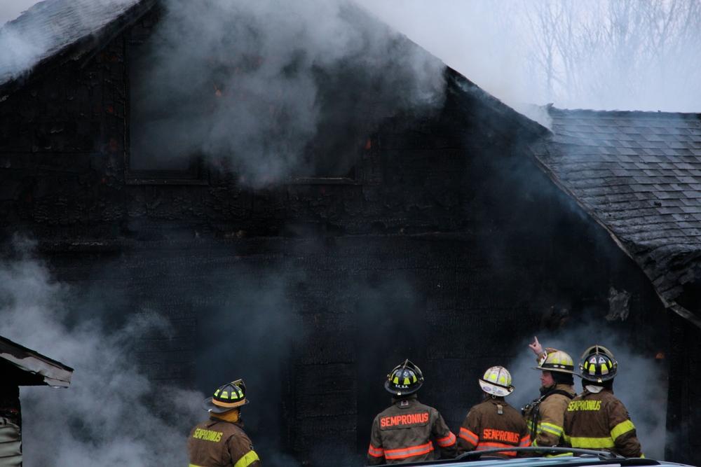 Moravia house fire