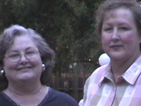 Marilyn Thorn & Sue Acaldo