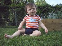 Jeffrey's son, Parker