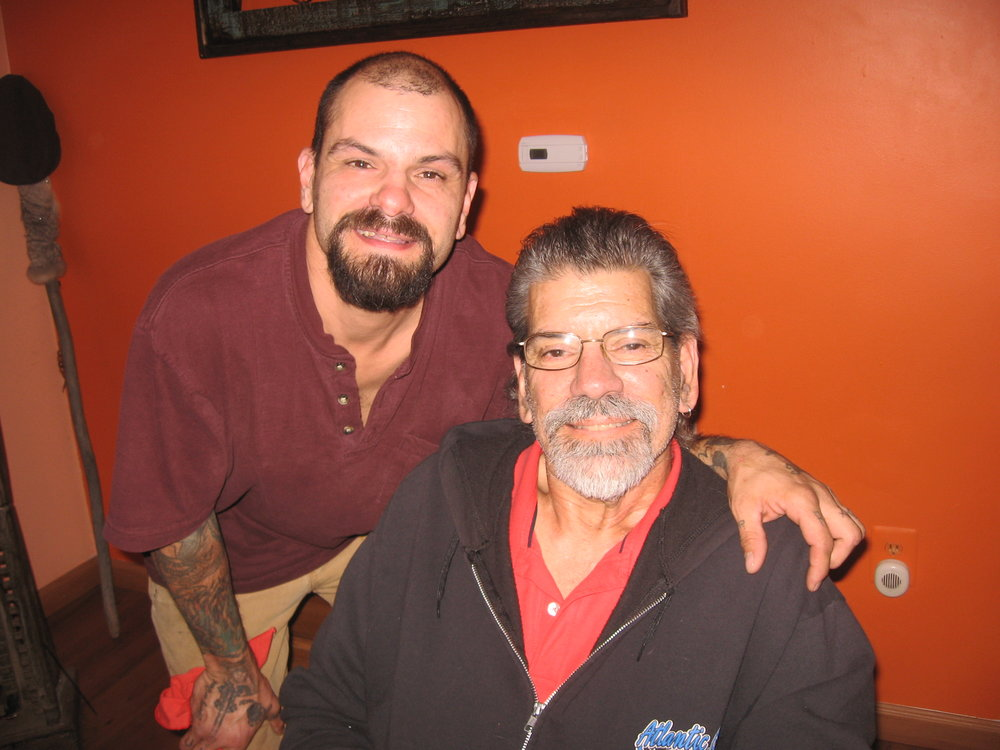 Anthony and his Dad