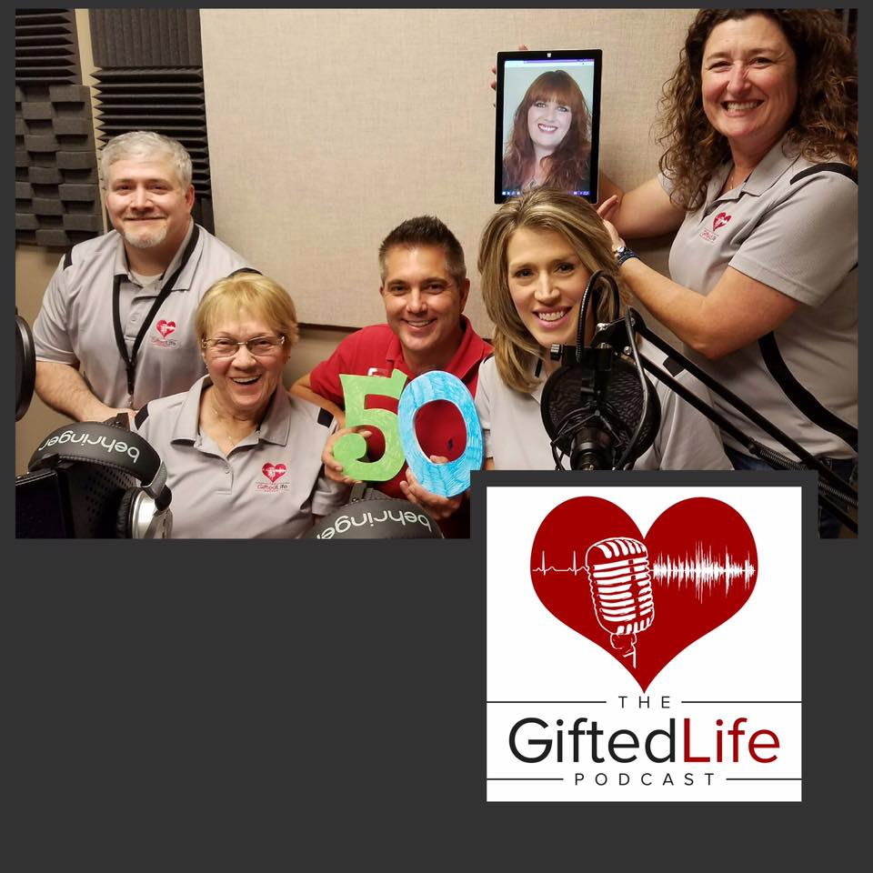 The Gifted LIfe Podcast hosts and production team.