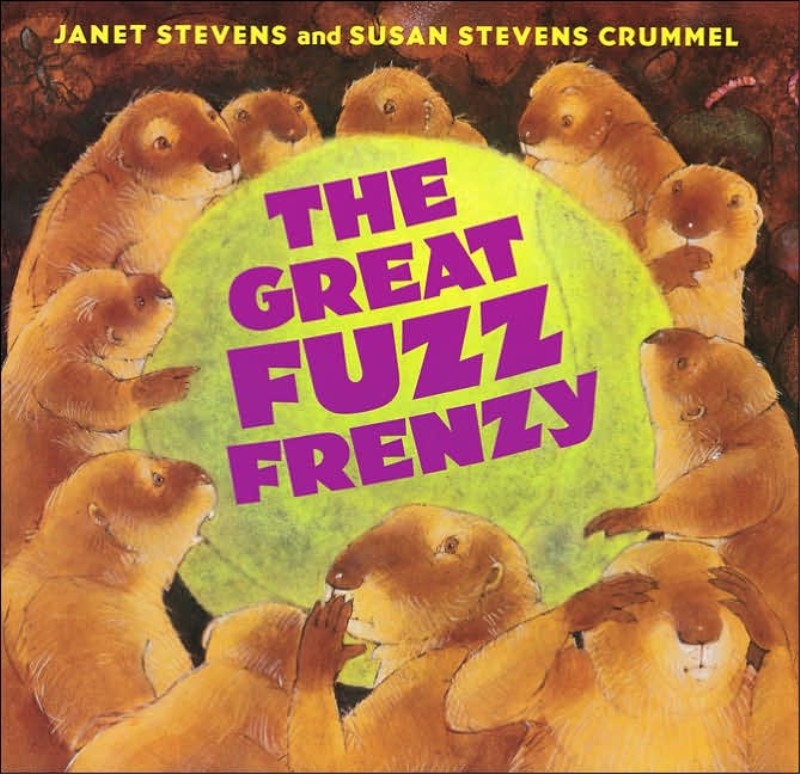 BY JANET STEVENS AND SUSAN STEVENS CRUMMEL Buy Now! Violet lost her ball, and it wound up somewhere very new. How will these (much smaller) dogs deal with this confounded fuzz? Everyone will be wrapped in this adventure told in fiber.