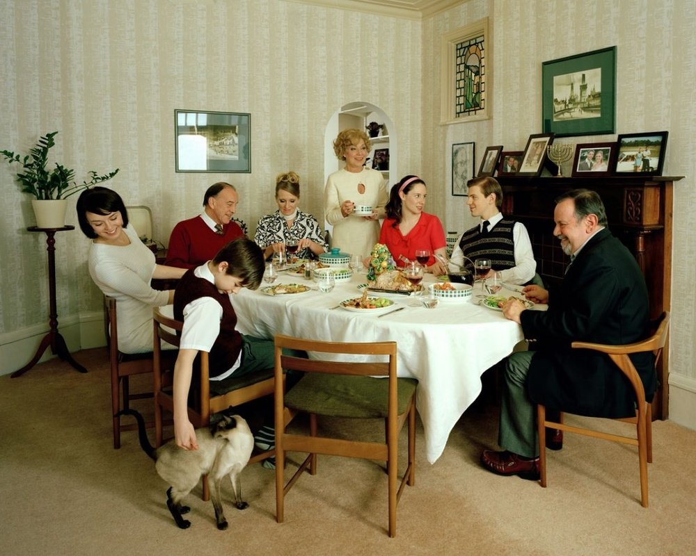 Sunday Lunch (Tom and Karen 1966) - Edition of 3 + 1AP - 150cm x 120cm / Edition of 6 + 1AP - 100cm x 80cm / Edition of 9 + 1AP - 61cm x 76cm