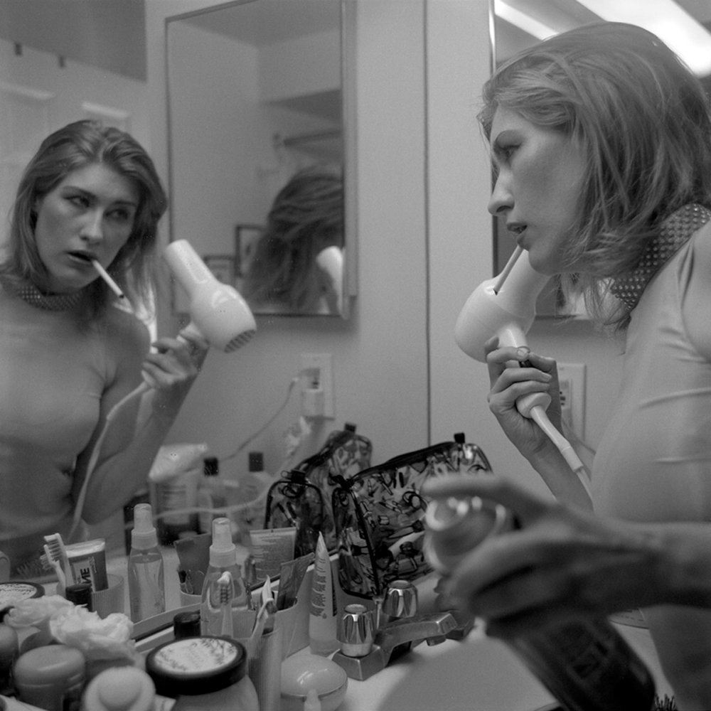 ©Brittain Bright. I always loved to watch my mother getting ready. She raised me to believe there is no such thing as too much hairspray.