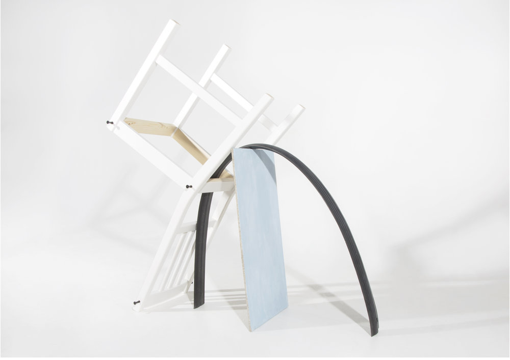 Blue Bridge Chair ©Emily Bitcon