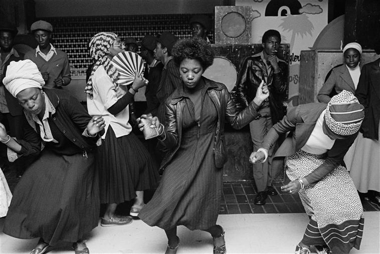G.B. ENGLAND. Wolverhampton. Disco. 1978.