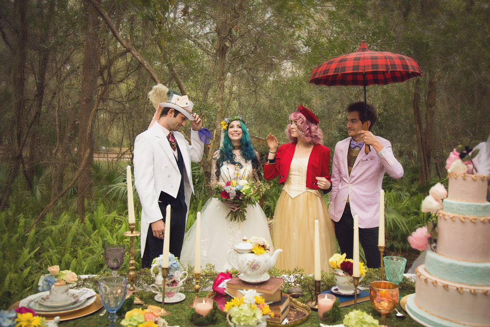 SPRINGTIME IN WONDERLAND - Whimsical inspiration for the modern bride and groom.