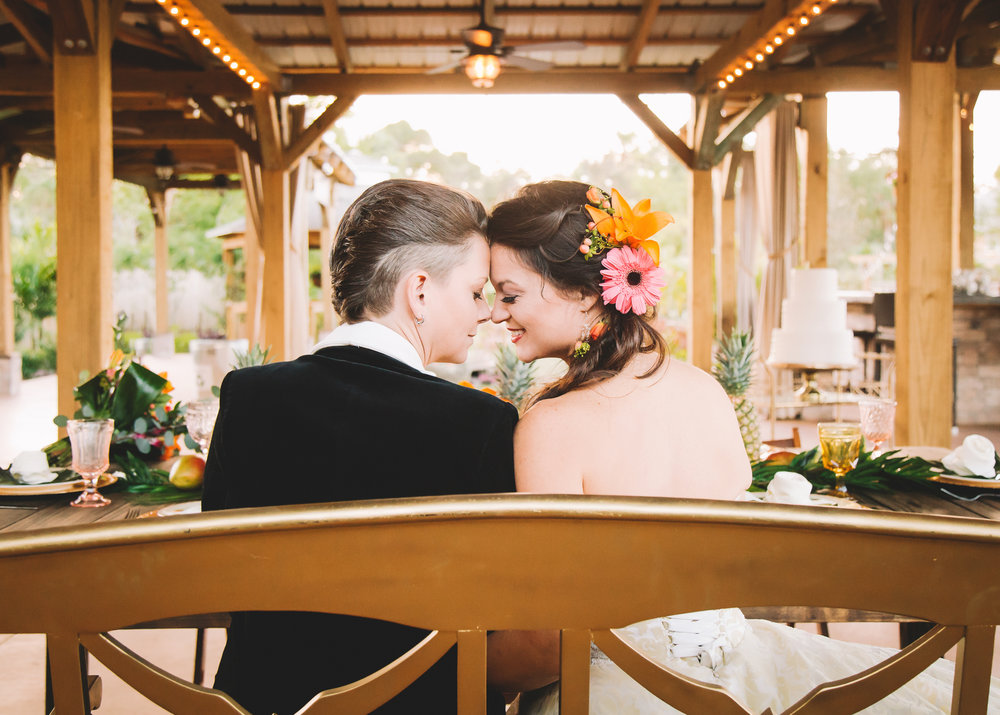 Amanda + Bean // Rockledge Gardens