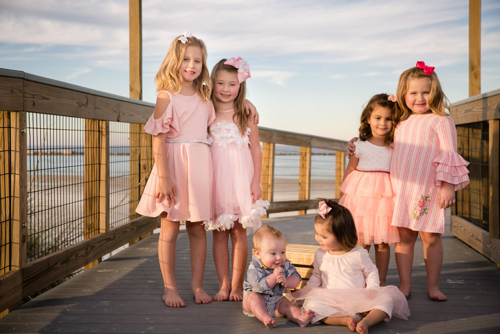 Five princesses & a prince go to Ponce Inlet… -
