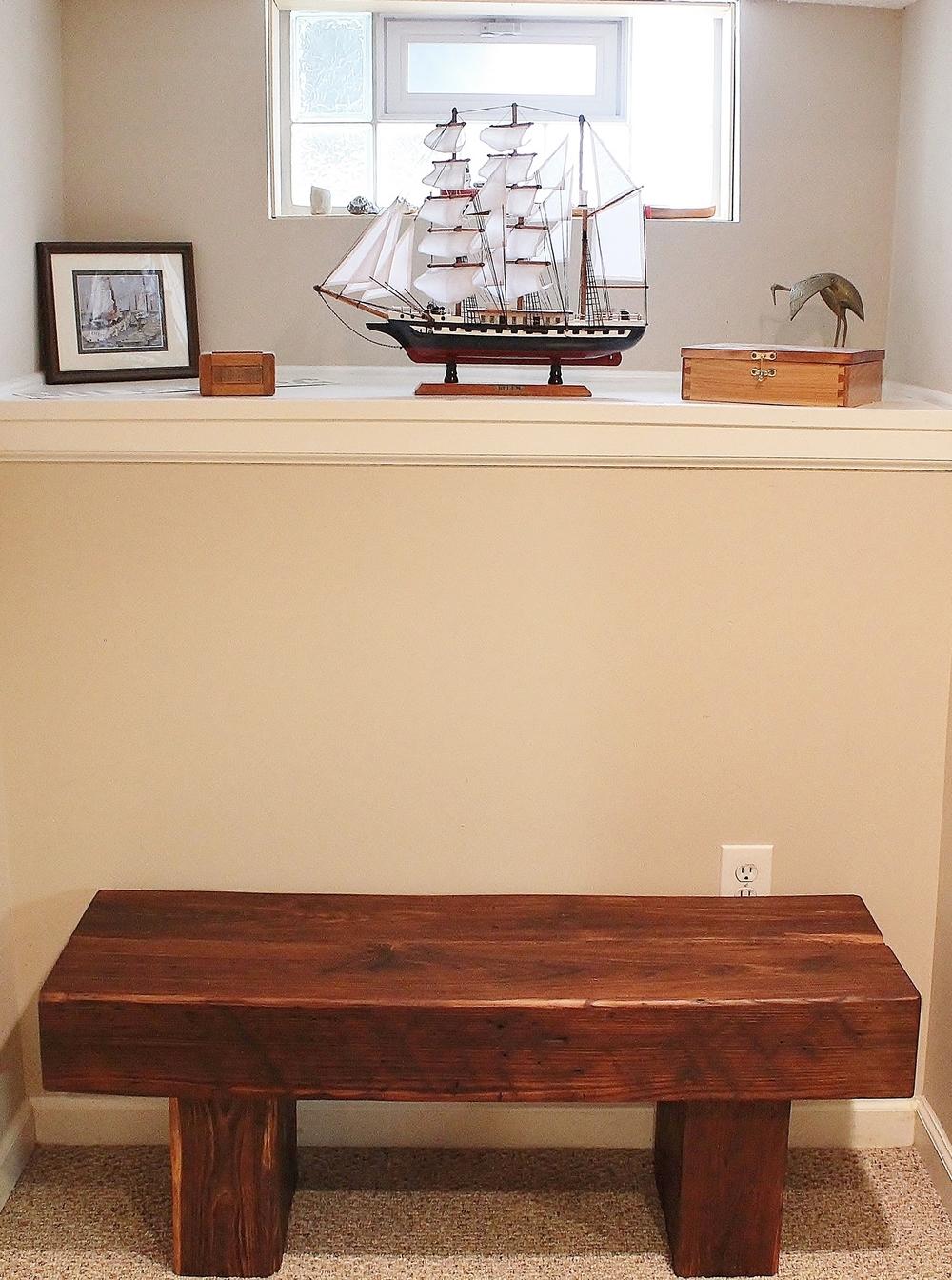 Timber Bench