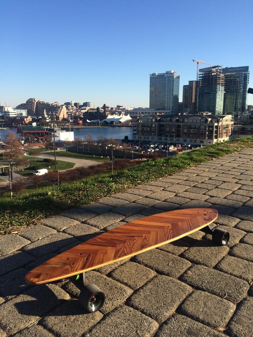 Baltimore Lath Longboard