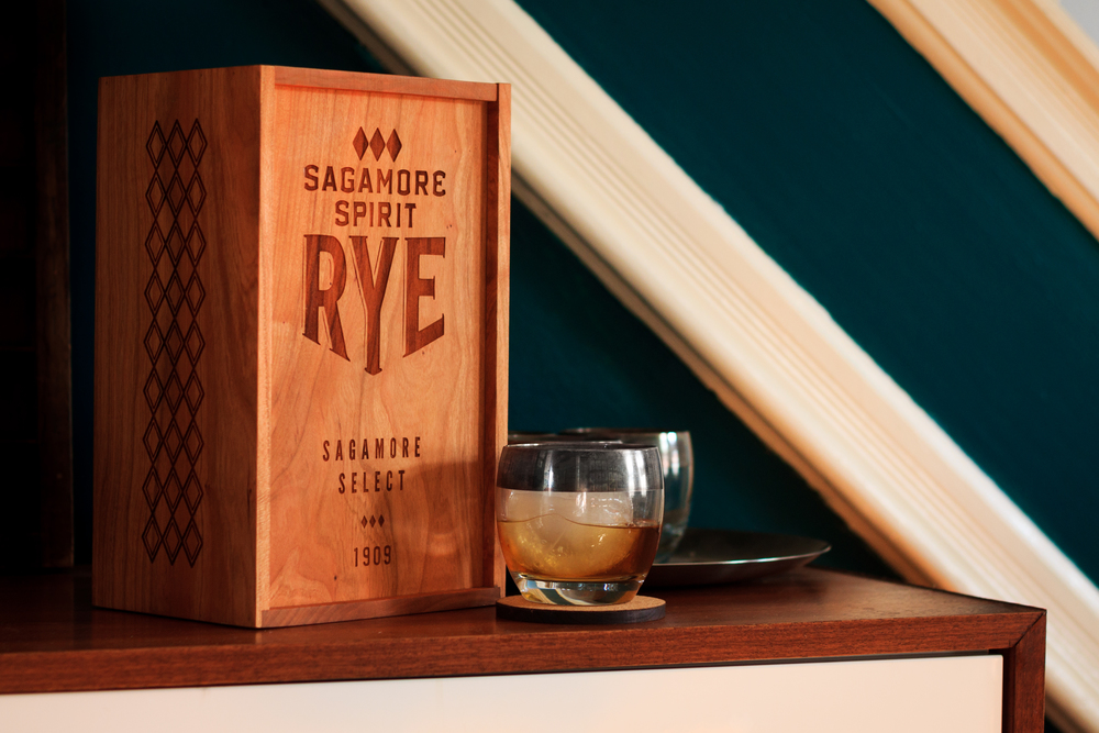 Prototype Sagamore Spirit Distillery Box