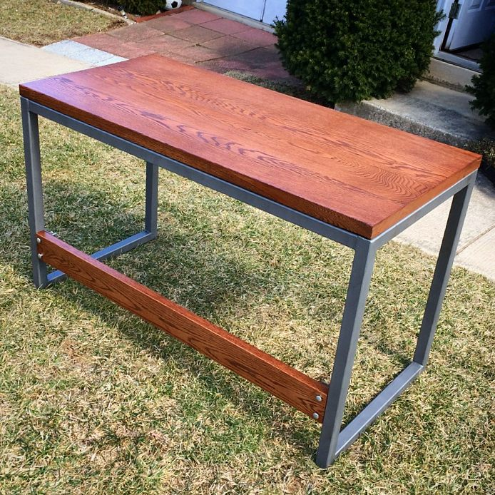 Red Oak Writing Table