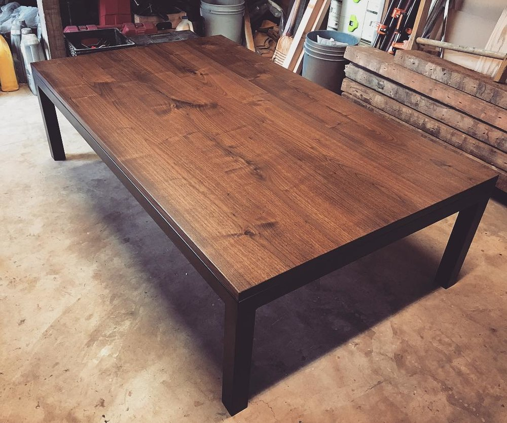 Oversized Custom Coffee Table