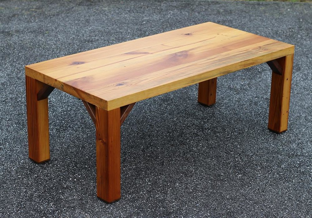 Douglass Fir Coffee Table