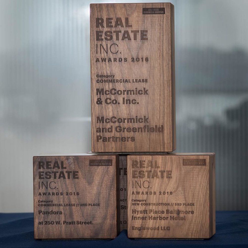 Laser Engraved Awards