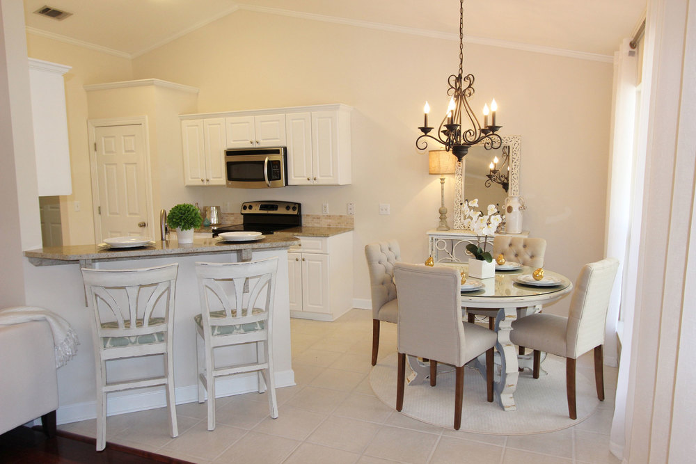 Image of Kitchen with Professionally Staged Furniture
