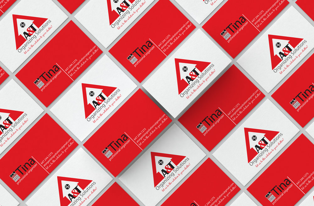 A&T Organizing Solutions  Branding, logo design and stationary    Year   2014
