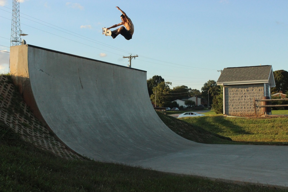 Adam - Frontside blaster in Virginia